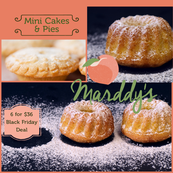 Assortment of Dessert Cakes and Pies
